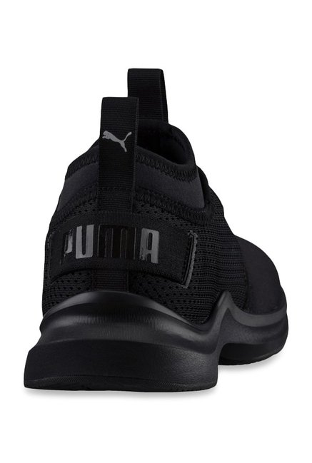 6fdf56f7d85d2b Buy Puma Phenom Low Black Training Shoes for Women at Best Price ...