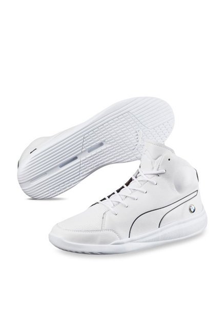 Buy Puma BMW MS Mid White Ankle High