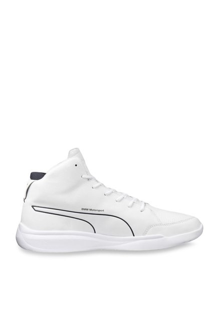 puma bmw mid sneakers