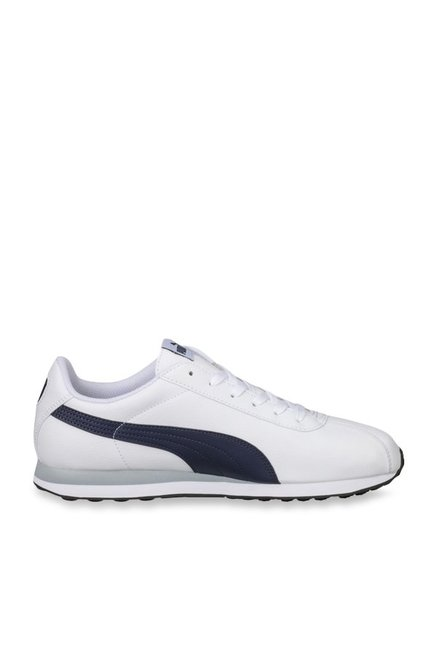 a91d4ce4342b Buy Puma Turin White   Peacoat Sneakers for Men at Best Price   Tata CLiQ