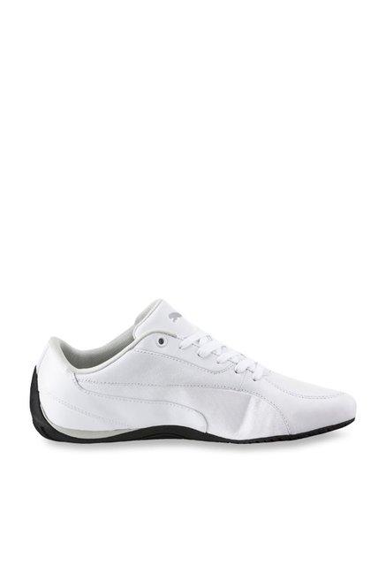 grand choix de 1cbd1 4ef1a Buy Puma Drift Cat 5 Carbon White Sneakers for Men at Best ...