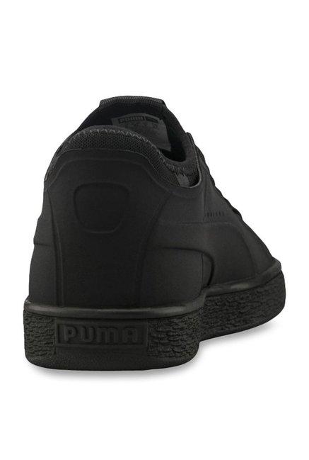 big sale 68673 cf68c Buy Puma Basket Classic Sock Lo Black Sneakers for Men at ...