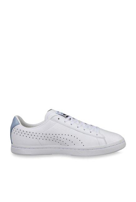 wholesale dealer e13d4 0e07f Buy Puma Court Star NM White & Cashmere Blue Sneakers for ...