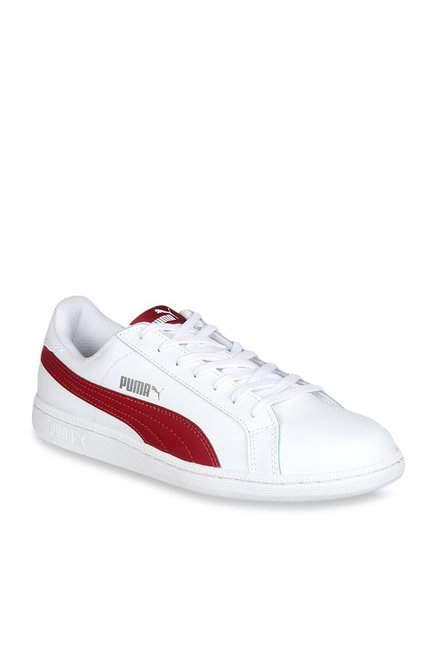 76720afbebfa Buy Puma White   Red Sneakers for Men at Best Price   Tata CLiQ