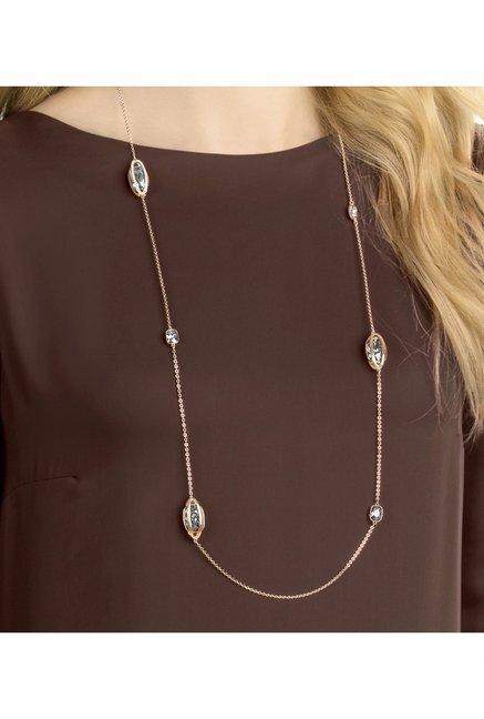 Buy Swarovski Holding Strandage Rose Casual Necklace Online At Best ... 5a36d87b2