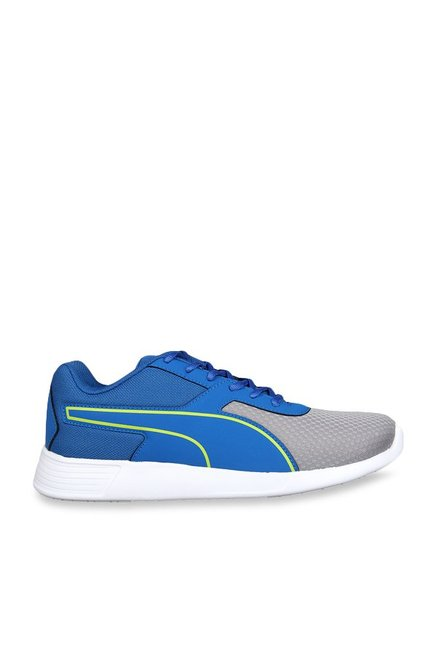 Buy Puma Kor IDP Blue   Grey Running Shoes for Men at Best Price ... 813dcea39
