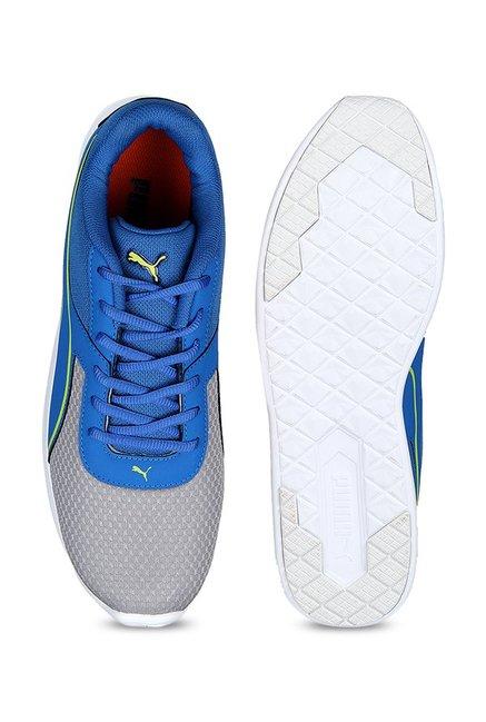 Buy Puma Kor IDP Blue   Grey Running Shoes for Men at Best Price ... c6239d8df