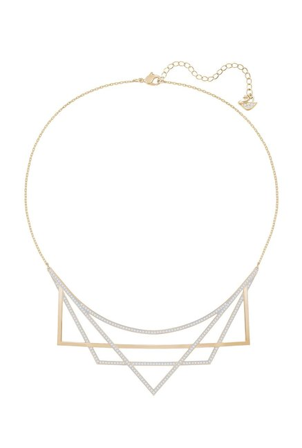 Buy Swarovski Geometry Rose Casual Necklace Online At Best