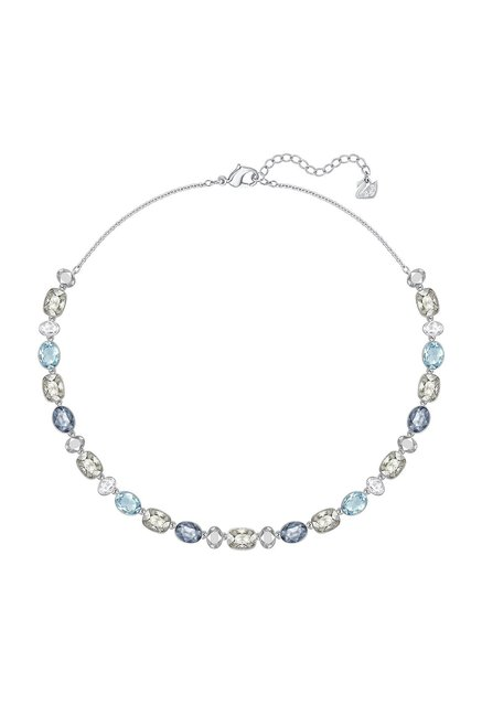 25a5113d7 Buy Swarovski Girlfriend All-Around Silver Cocktail Necklace Online At Best  Price @ Tata CLiQ