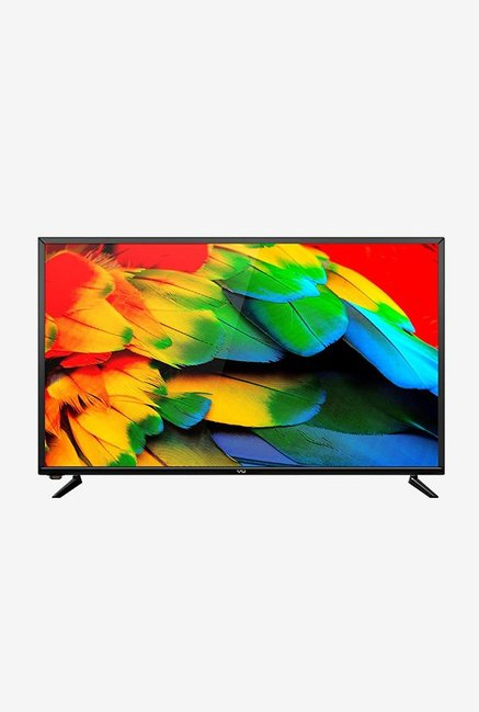 a35bb920a1d Buy Vu 40D6535 102cm (40 inch) Full HD LED TV (Black) Online At Best Price    Tata CLiQ