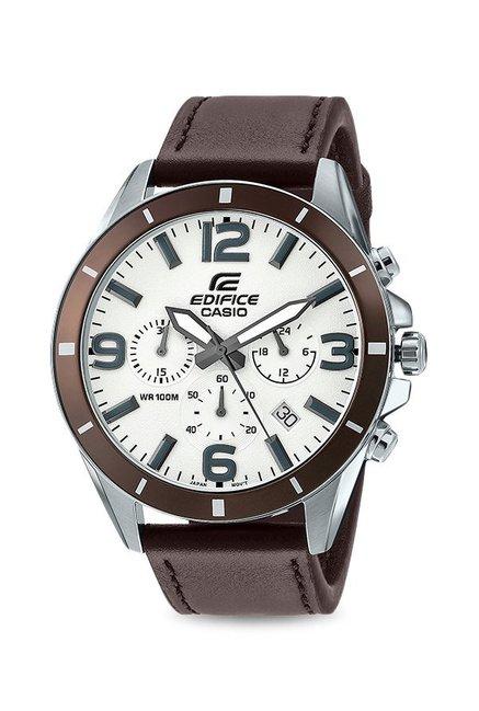 Casio Edifice EFR-553L-7BVUDF (EX284) Analog White Dial Men's Watch (EFR-553L-7BVUDF (EX284))
