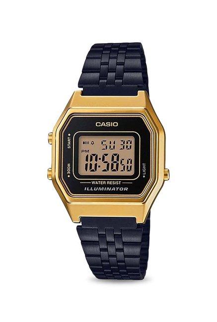 Casio LA680WEGB-1ADF Vintage Digital Watch for Women