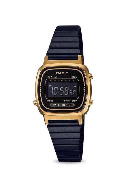 3fe40b96142a Buy Casio LA670WEGB-1BDF Vintage Digital Watch for Women at Best Price    Tata CLiQ