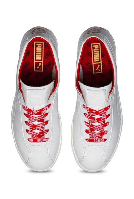 800da8f0fa1b89 Buy Puma Te-Ku Russia FM White Sneakers for Men at Best Price   Tata ...