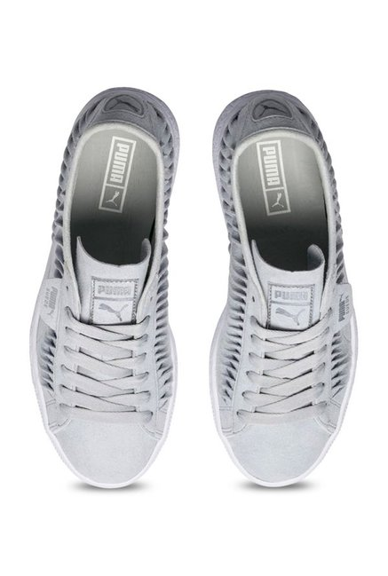 factory authentic 8cd21 99f65 Buy Puma Metallic Entwine Glacier Grey & Silver Sneakers for ...