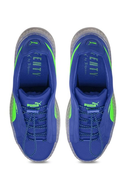 sports shoes 3d4ad 8cab3 Buy Puma Cleated Creeper Surf Dazzling Blue Sneakers for ...