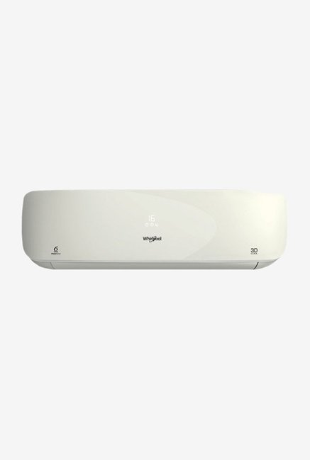 Whirlpool 1.5 Ton 3 (BEE rating 2017) 3DCOOL HD Copper Split AC (White)