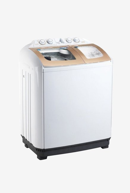 Lloyd LWMS78LS 7.8Kg Semi Automatic Top Load Washing Machine (White)