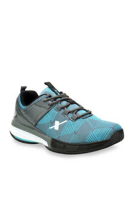 a3bc5549eb9 Buy Sparx Turquoise   Grey Running Shoes for Men at Best Price ...