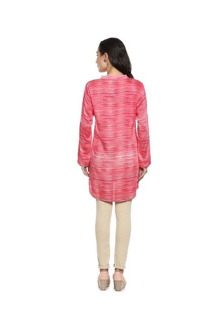 Soch Red Textured Tunic