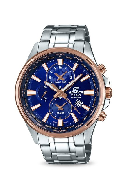 75ad4a629 Buy Casio EFR-304PG-2AVUDF Edifice Analog Watch for Men at Best Price @ Tata  CLiQ
