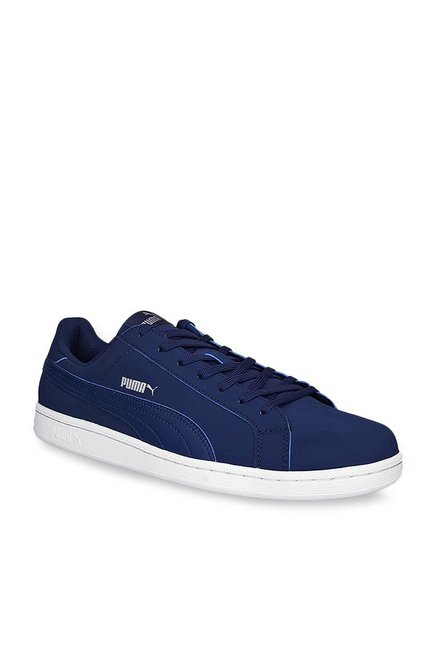 Buy Puma Smash Buck IDP Navy   White Sneakers for Men at Best Price   Tata  CLiQ f43d37d14