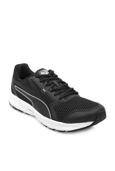 f7676e40ba37 Buy Puma Essential Runner IDP Black Running Shoes for Men at Best ...
