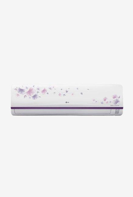 LG 2.0 Ton 3 Star (BEE rating 2018) JS-Q24FUXD Inverter Split AC (White)