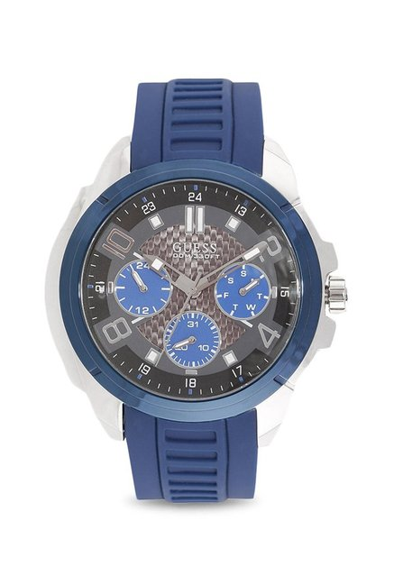 Buy Guess W1050G1 Analog Watch for Men at Best Price   Tata CLiQ dfb047bcceae