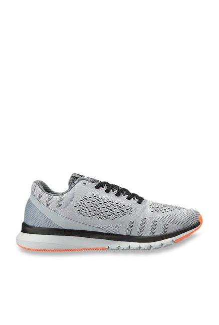 Buy Reebok Print Smooth Ultk Cloud Grey Running Shoes for Men at ... cda827605