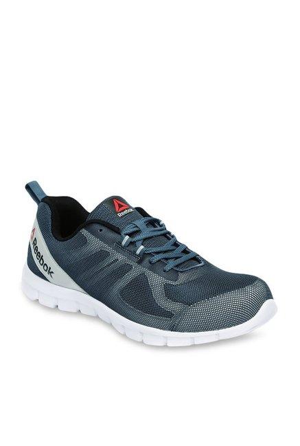 bc0cef657347e8 Buy Reebok Super Lite Teal Blue   Light Grey Running Shoes for ...