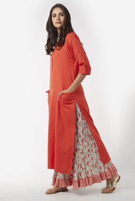 Utsa by Westside Coral Maxi Skirt