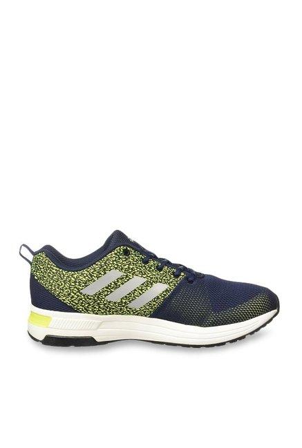 Buy Adidas Yaris 10 Navy \u0026 Lime Green