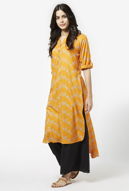 Utsa by Westside Orange Kurta