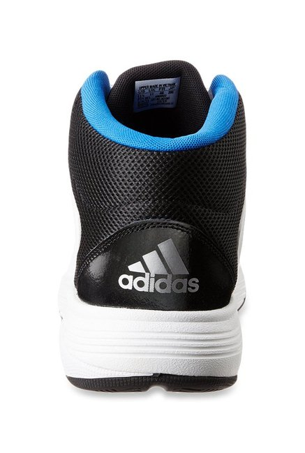 52af2f1fe85ca3 Buy Adidas Neo Cloudfoam Ilation Mid White Basketball Shoes for Men ...