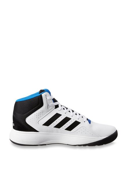 delicate colors pretty cheap casual shoes Buy Adidas Neo Cloudfoam Ilation Mid White Basketball Shoes for Men at Best  Price @ Tata CLiQ