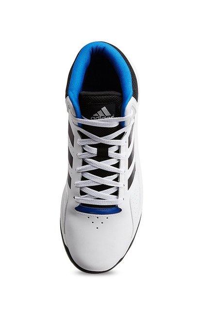 Buy Adidas Neo Cloudfoam Ilation Mid White Basketball Shoes