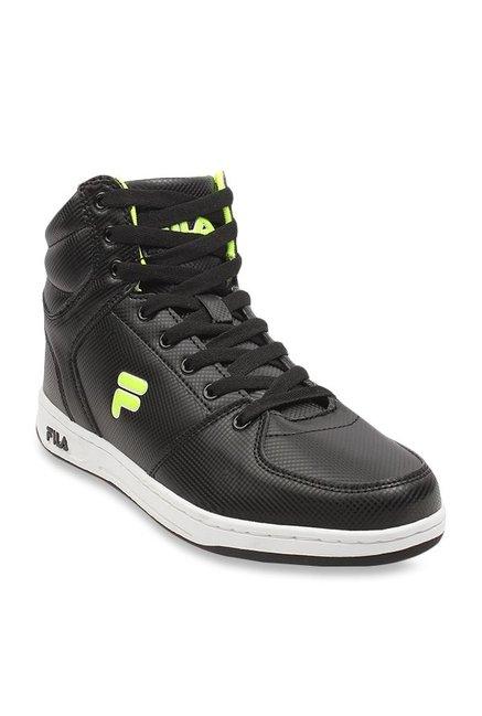 bli billig grossistuttag brett utbud Buy Fila Brent Black Ankle High Sneakers for Men at Best Price ...