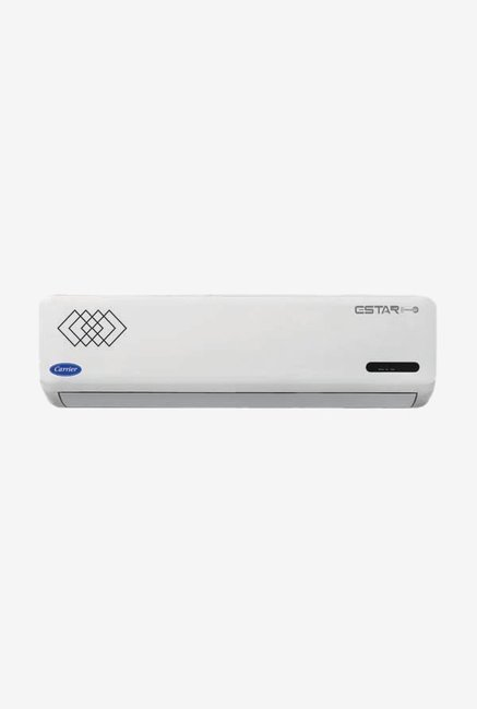 Carrier Estar Cyclojet 2 Ton 3 Star (BEE Rating 2018) CAS24ET3J8F0 Copper Split AC (White)