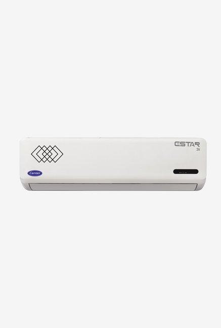 Carrier Estar Inverter 1.5 Ton 3 Star (BEE Rating 2017) CAI18ET3C8F0 Copper Split AC (White)