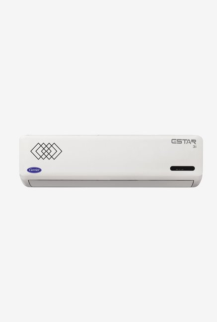 Carrier Estar Inverter 2 Ton 3 Star (BEE Rating 2018) CAI24ET3B8F0 Copper Split AC (White)