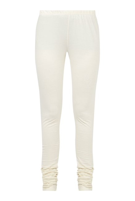 Zudio Off White Leggings