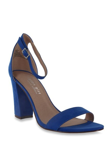 Buy Madden Girl Beella Blue Ankle Strap Sandals for Women at Best ...