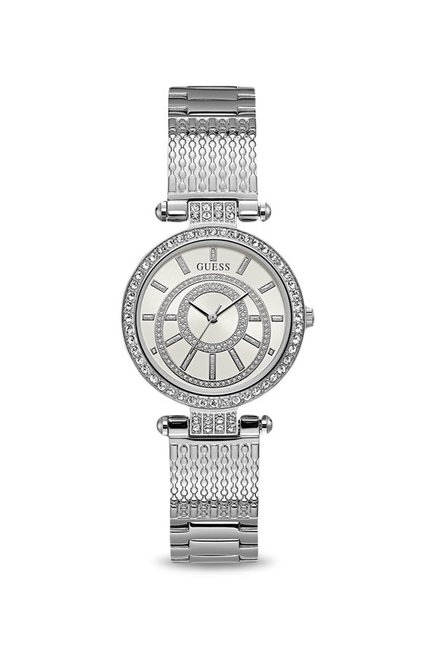 91224f67e Buy Guess W1008L1 Iconic Analog Watch for Women at Best Price @ Tata CLiQ