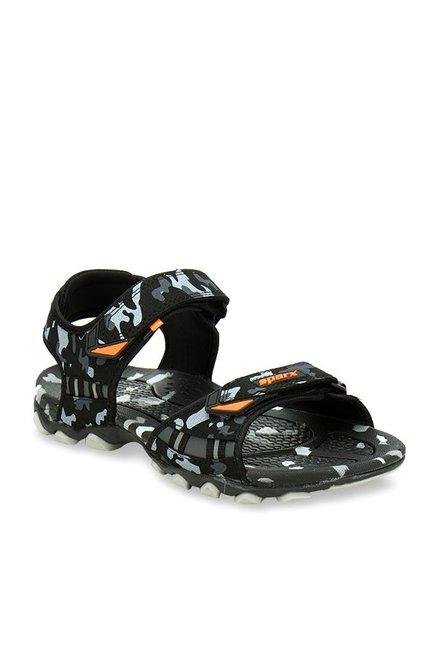 2b836413ec27 Buy Sparx Camouflage Black Floater Sandals for Men at Best Price ...