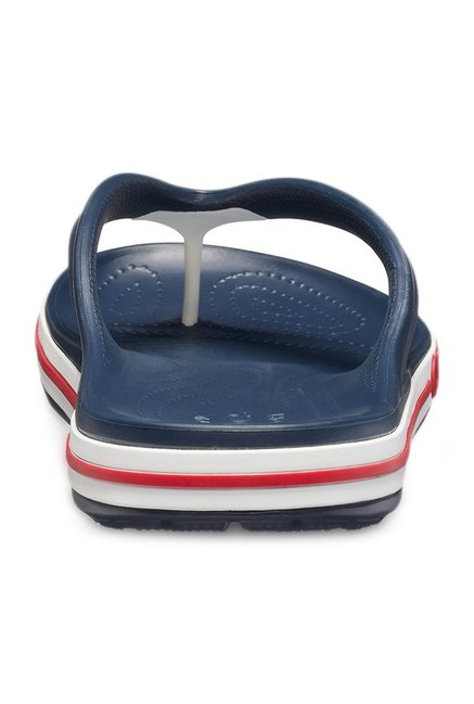 0e9fc9dcc64 Buy Crocs Bayaband Navy Flip Flops for Men at Best Price   Tata CLiQ