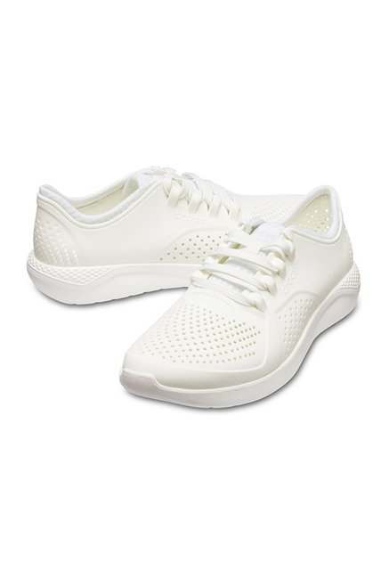 f9a26700b7ef Buy Crocs LiteRide Pacer White Casual Shoes for Men at Best Price ...