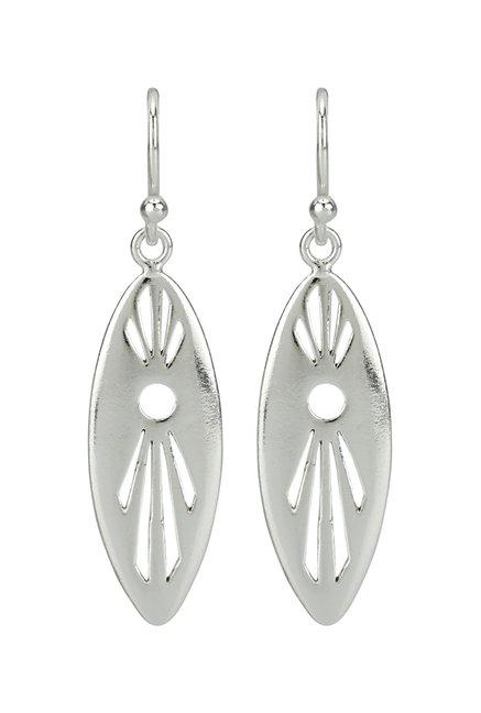 Ahilya Jewels Seed 925 Silver Earrings
