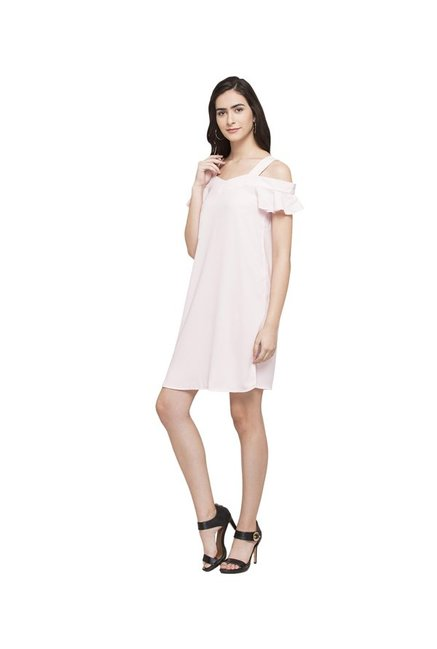 Globus Pink Above Knee Dress