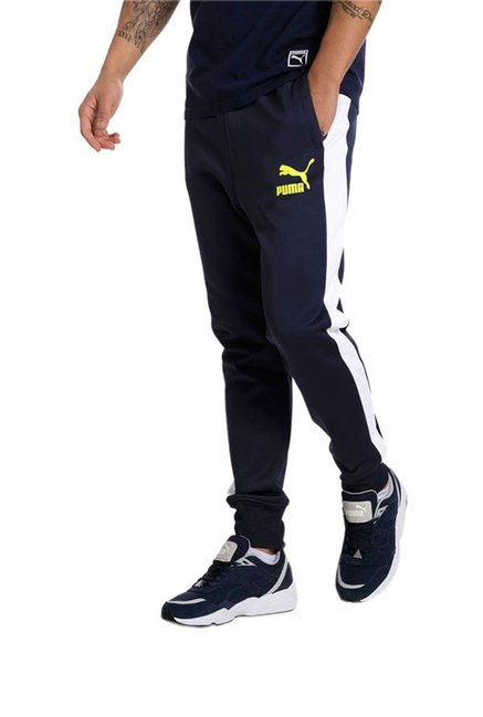 Puma Peacoat Polyester Joggers for Mens